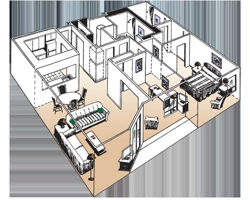 Premiere Executive Suite Floorplan