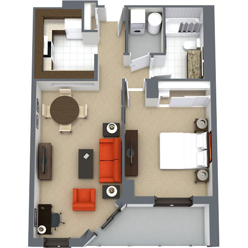 Premiere One-Bedroom Suite